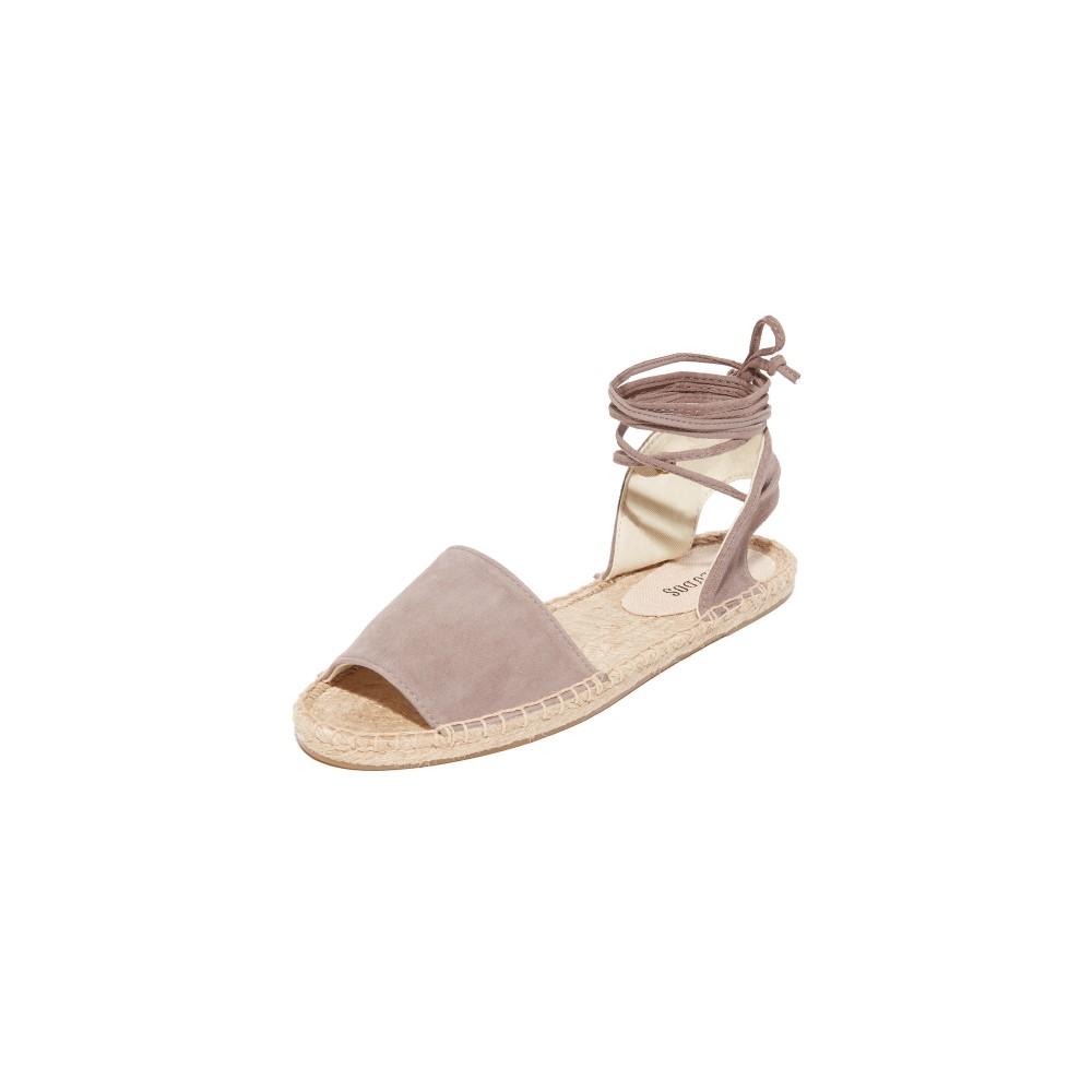 ソルドス Soludos レディース シューズ・靴 サンダル【Balearic Tie Up Sandals】Dove Gray