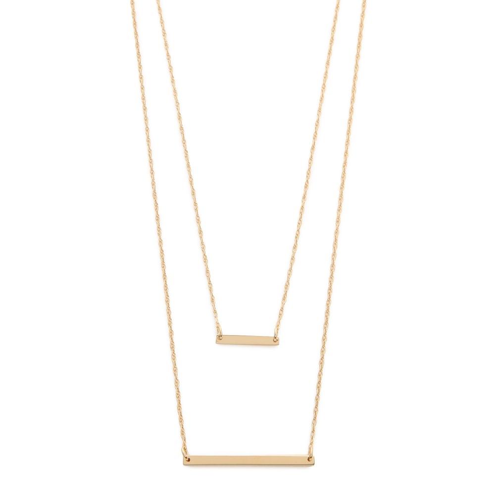 ジェニファーズーナー Jennifer Zeuner Jewelry レディース アクセサリー ネックレス【Cynthia Necklace】Gold