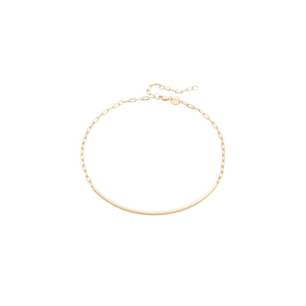 ジェニファーズーナー Jennifer Zeuner Jewelry レディース アクセサリー ネックレス【Cecelia Chain Choker Necklace】Gold