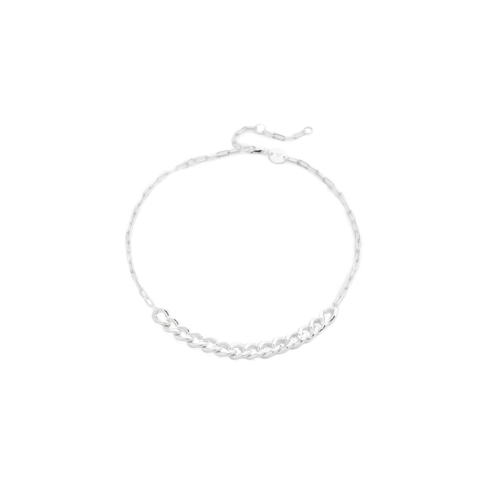 ジェニファーズーナー Jennifer Zeuner Jewelry レディース アクセサリー ネックレス【Apollo Chain Choker Necklace】Silver