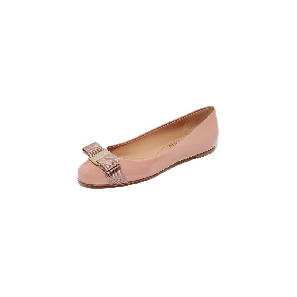 サルヴァトーレ フェラガモ Salvatore Ferragamo レディース シューズ・靴 フラット【Varina Flats】New Blush