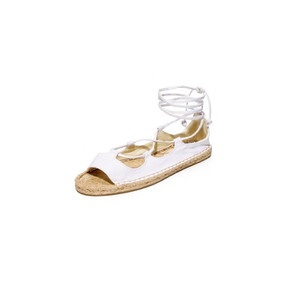 ソルドス Soludos レディース シューズ・靴 サンダル【Biarritz Sandals】White