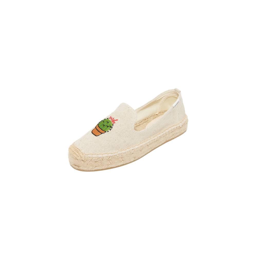 ソルドス Soludos レディース シューズ・靴 フラット【Cactus Platform Espadrilles】Sand