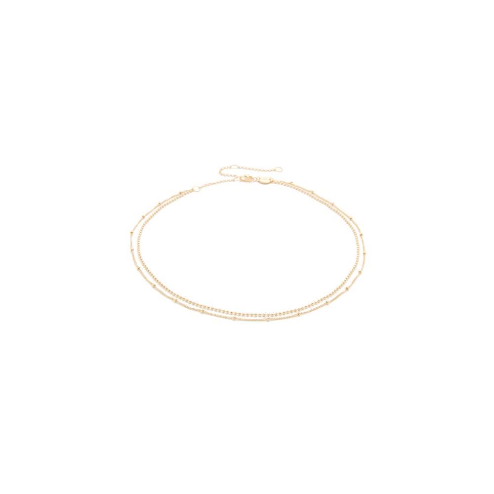 ジェニファーズーナー Jennifer Zeuner Jewelry レディース アクセサリー ネックレス【Ramy Choker Necklace】Gold