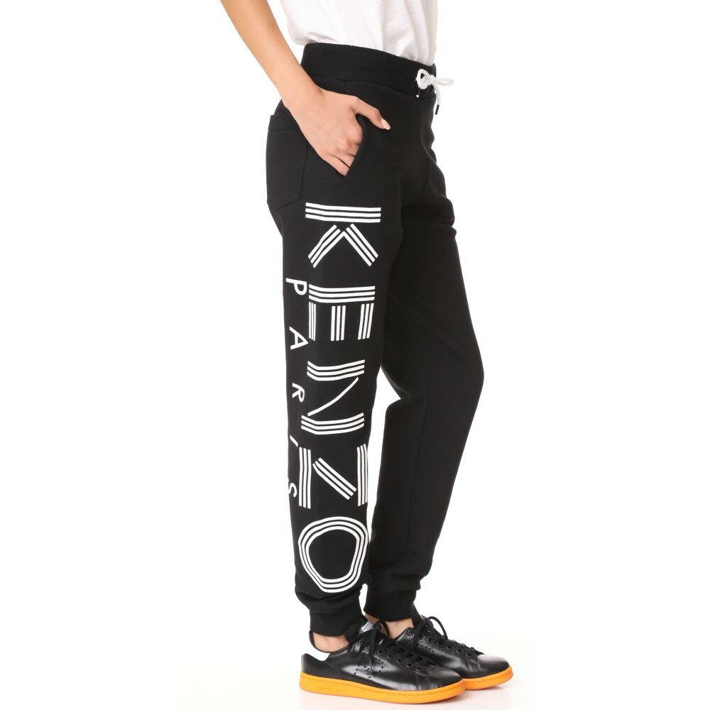 ケンゾー KENZO レディース ボトムス スウェットパンツ【Logo Sweatpants】Black