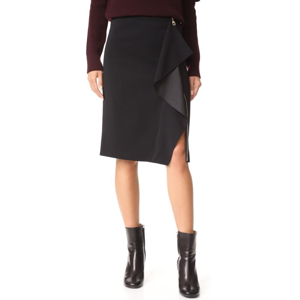 ヴェルサーチ Versace レディース スカート ミニスカート【Drape Front Skirt】Black