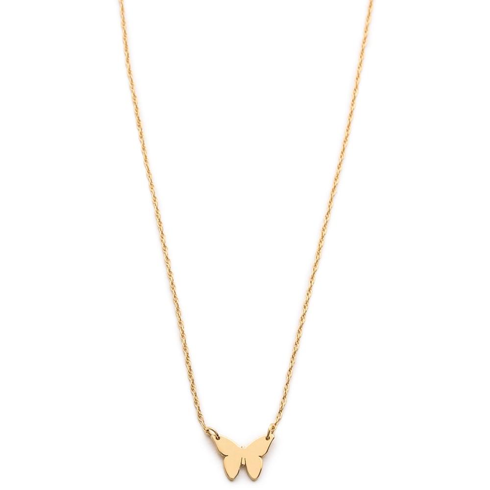 ジェニファーズーナー Jennifer Zeuner Jewelry レディース アクセサリー ネックレス【Mariah Mini Necklace】Gold