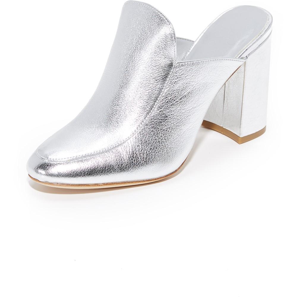 ジョア レディース シューズ・靴 サンダル・ミュール【Landri Mules】Silver