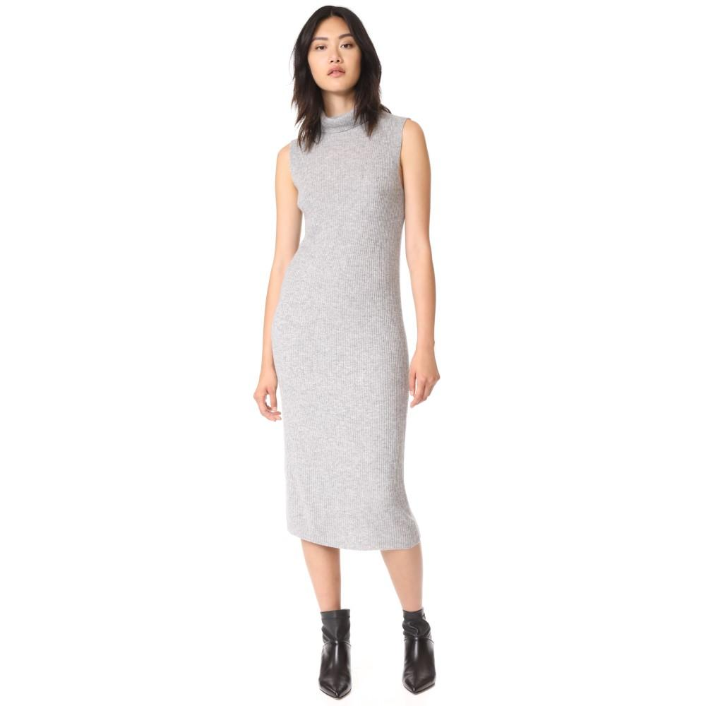 ジェームス パース レディース ワンピース・ドレス ワンピース【Cashmere Turtleneck Dress】Heather Grey