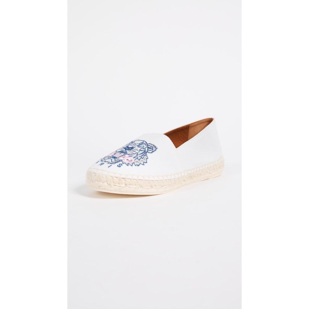 ケンゾー レディース シューズ・靴 エスパドリーユ【Classic Espadrilles】White