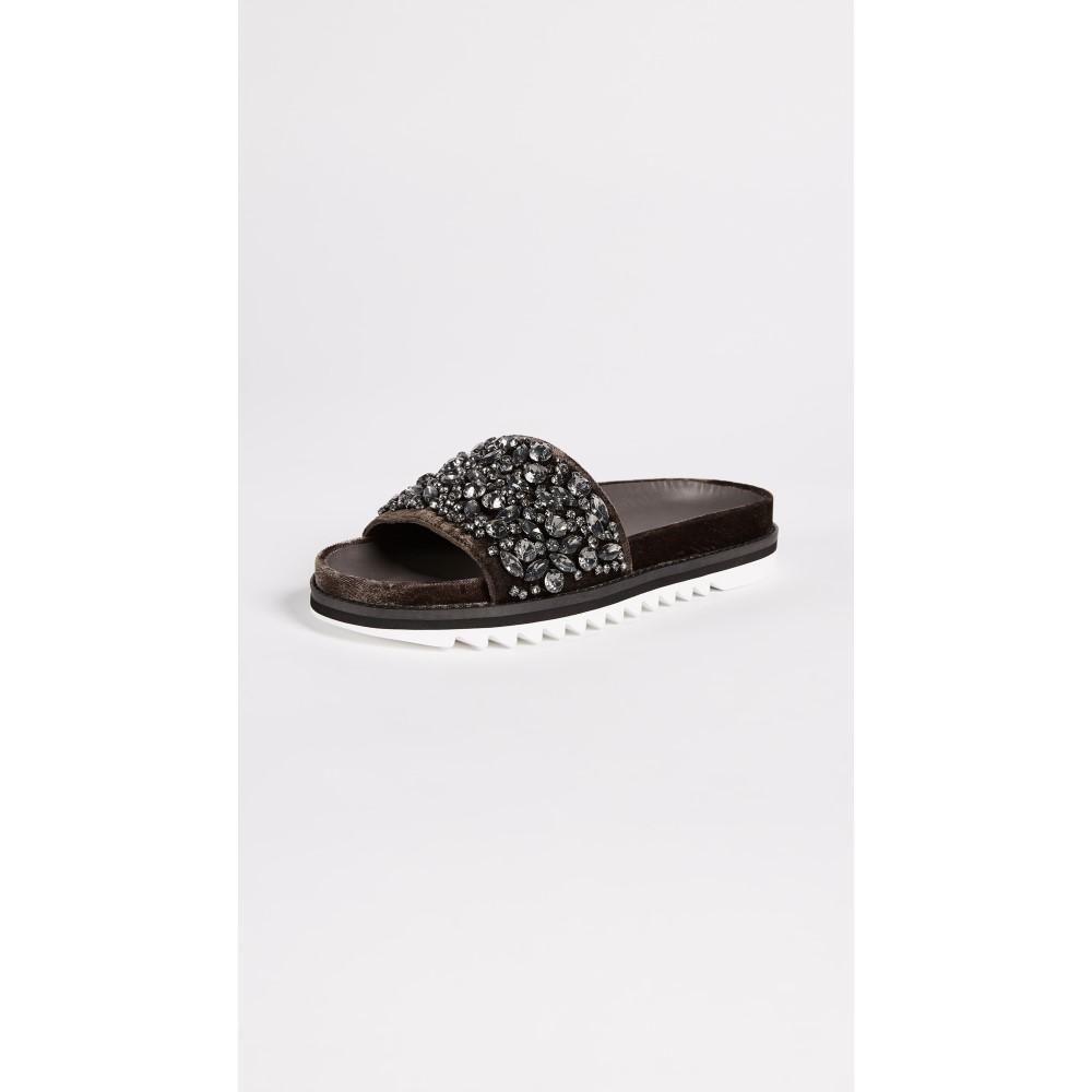 ジョア レディース シューズ・靴 サンダル・ミュール【Jacory Slides】Coal