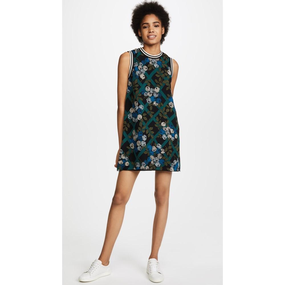 アナスイ レディース ワンピース・ドレス ワンピース【Rose Trellis Dress】Black Multi