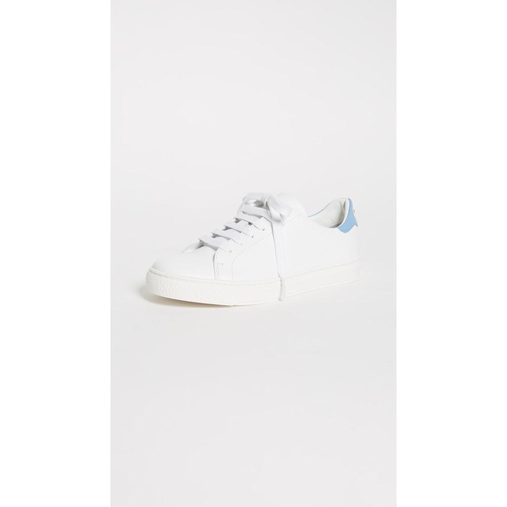 アニヤ ハインドマーチ レディース シューズ・靴 スニーカー【Eyes Tennis Shoes】White/Pansy