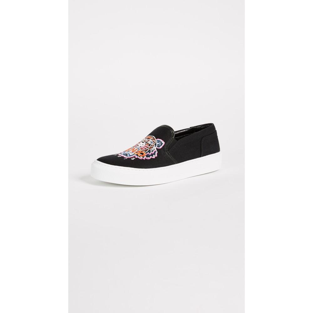 ケンゾー レディース シューズ・靴 スニーカー【K-Skate Sneakers】Black