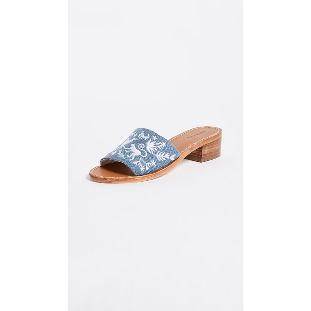 ソルドス レディース シューズ・靴 サンダル・ミュール【Otomi City Sandals】Medium Denim