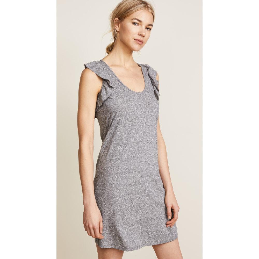 カレント エリオット レディース ワンピース・ドレス ワンピース【Cadence Dress】Heather Grey Jersey