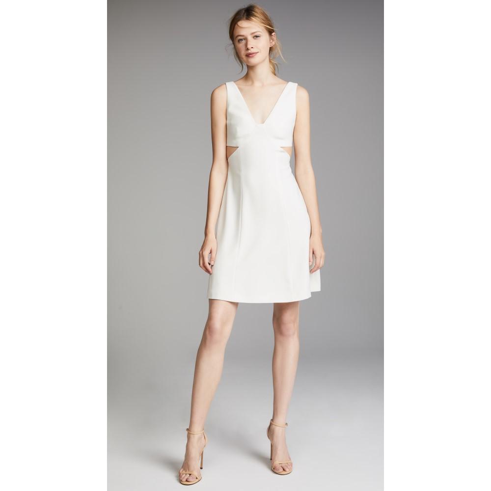 セオリー レディース ワンピース・ドレス ワンピース【Cutout Dress】Ivory