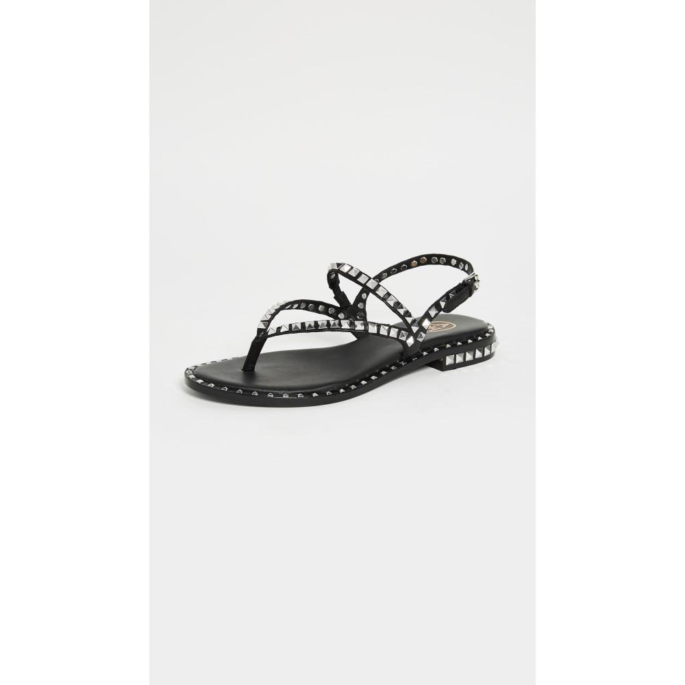 アッシュ レディース シューズ・靴 サンダル・ミュール【Peps Thong Sandals】Black