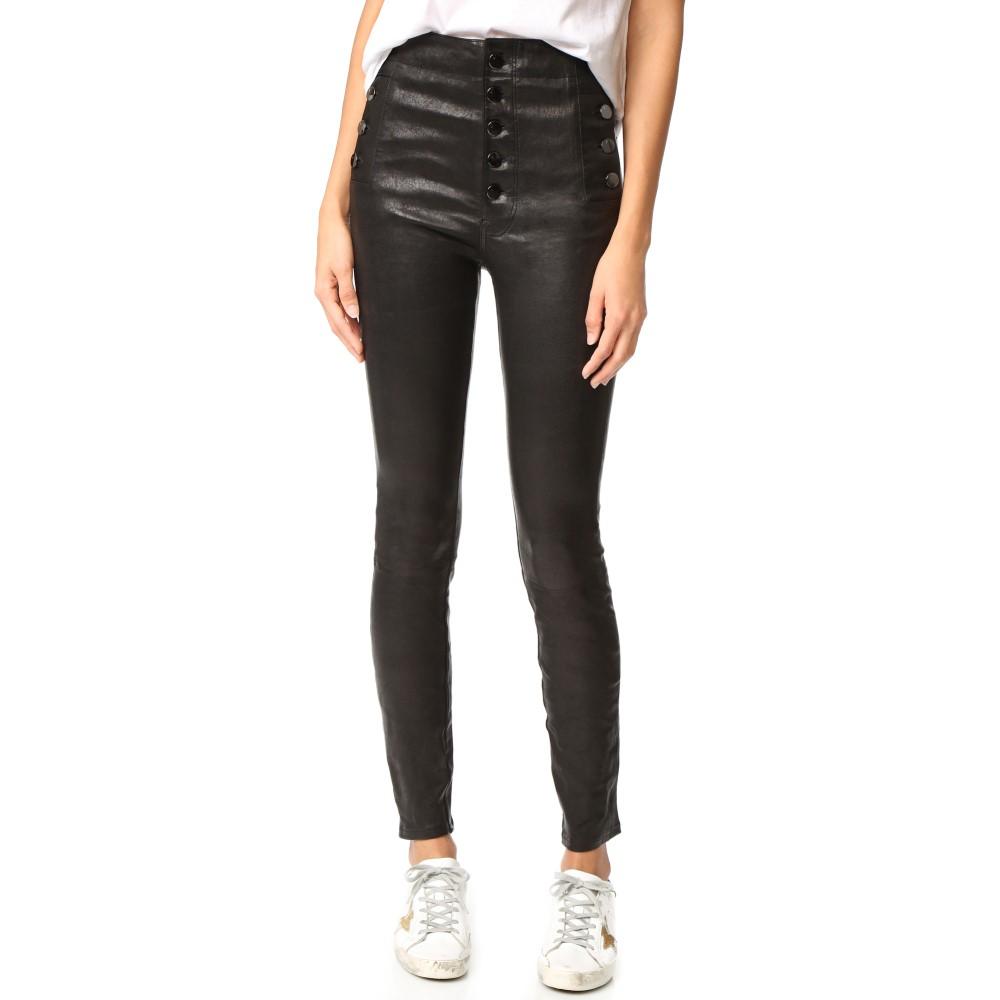 ジェイ ブランド レディース ボトムス・パンツ スキニー・スリム【Natasha Leather Pants】Black