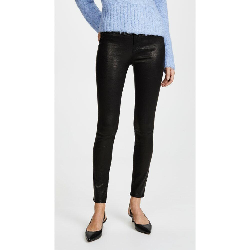 ラグ&ボーン レディース ボトムス・パンツ スキニー・スリム【High Rise Skinny Leather Pants】Black Leather