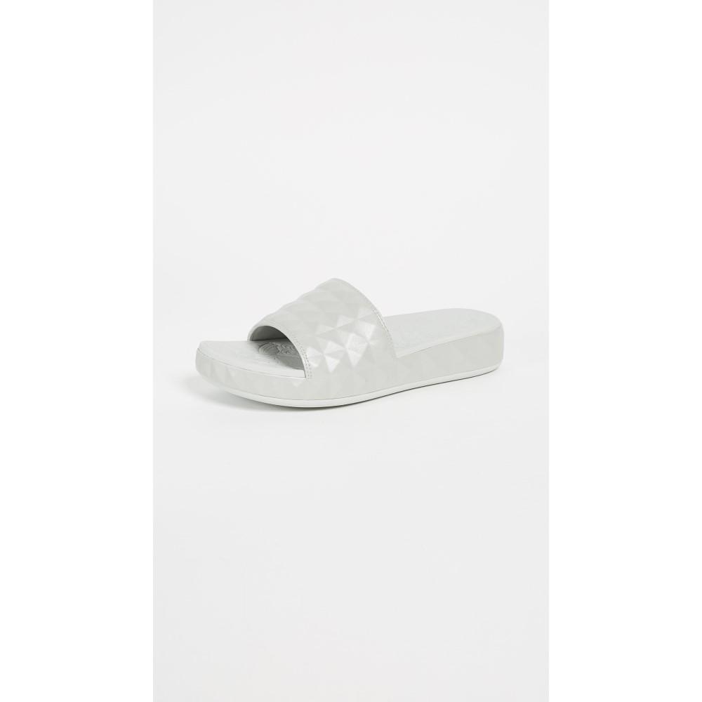 アッシュ レディース シューズ・靴 サンダル・ミュール【Splash Slide】Silver