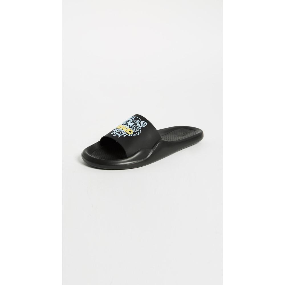 ケンゾー レディース シューズ・靴 サンダル・ミュール【Tiger Pool Sandals】Black