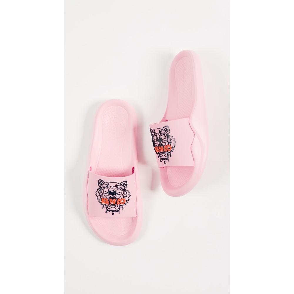 ケンゾー レディース シューズ・靴 サンダル・ミュール【Tiger Pool Sandals】Flamingo Pink