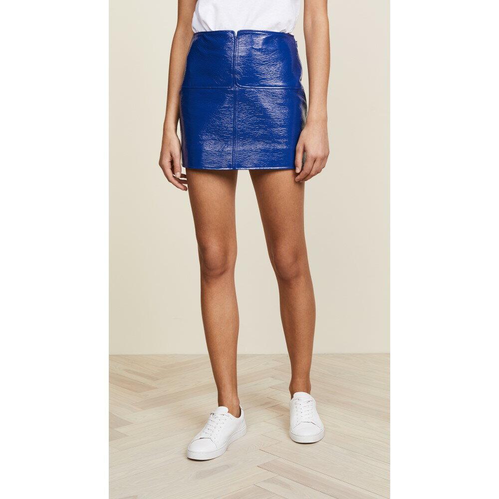 クレージュ レディース スカート ミニスカート【Mini Swallows Skirt】Royal Blue