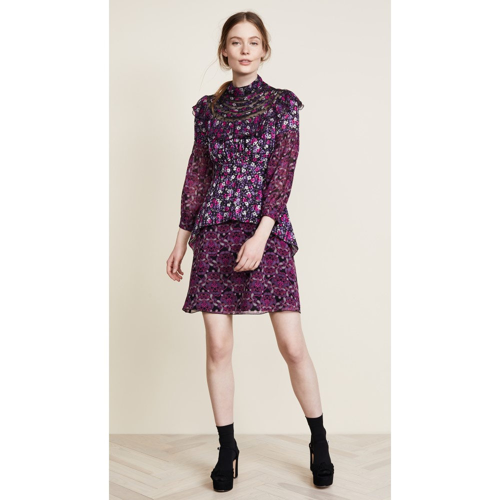 アナスイ レディース ワンピース・ドレス ワンピース【Joy Dress】Iris Multi