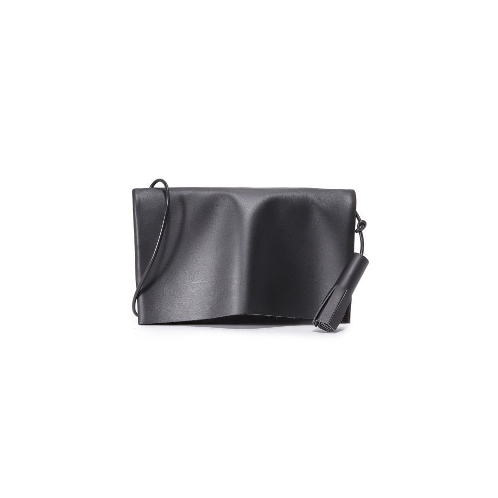 ビルディング ブロック レディース バッグ ショルダーバッグ【Fold Messenger Bag】Black