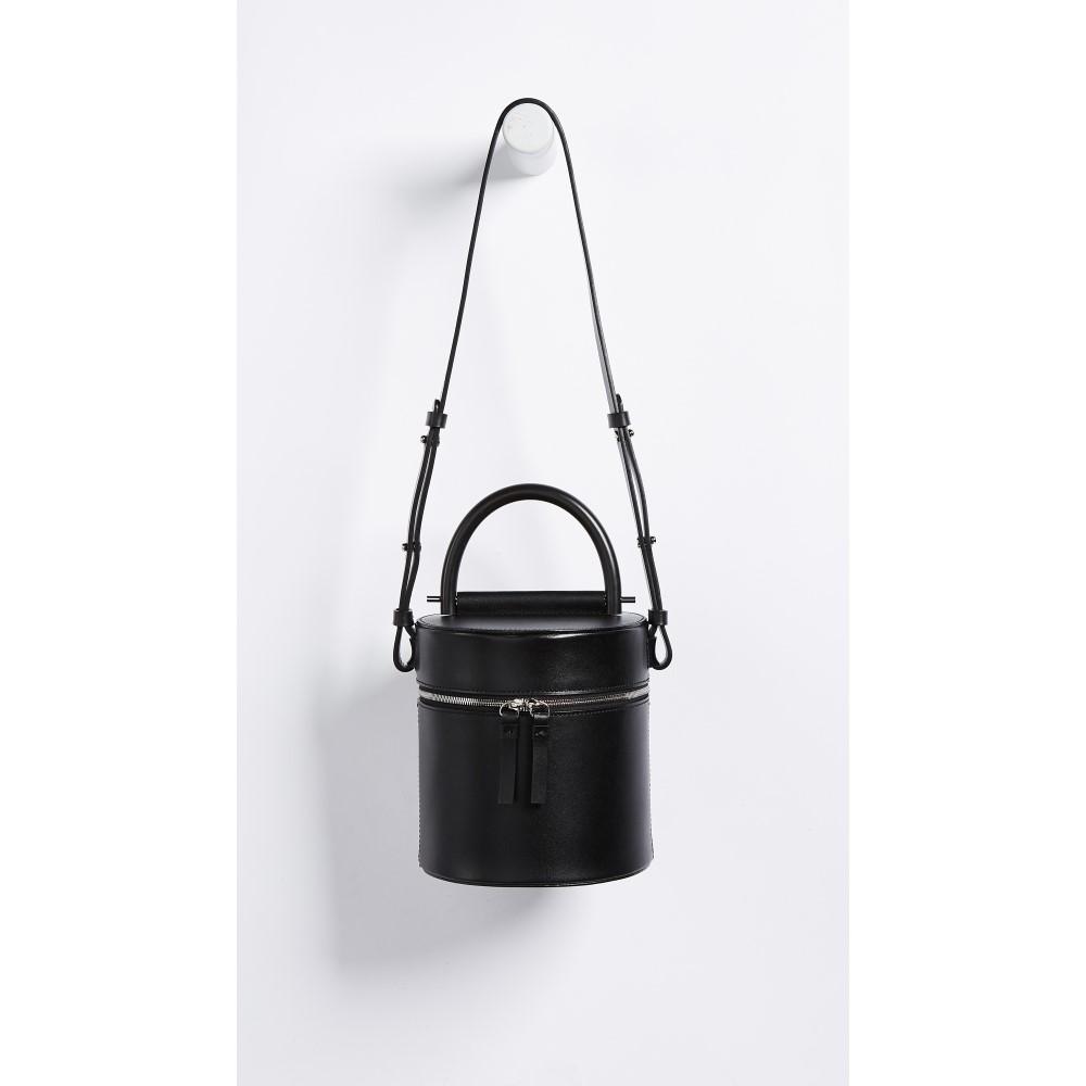 ビルディング ブロック レディース バッグ ショルダーバッグ【Drum Bag】Black
