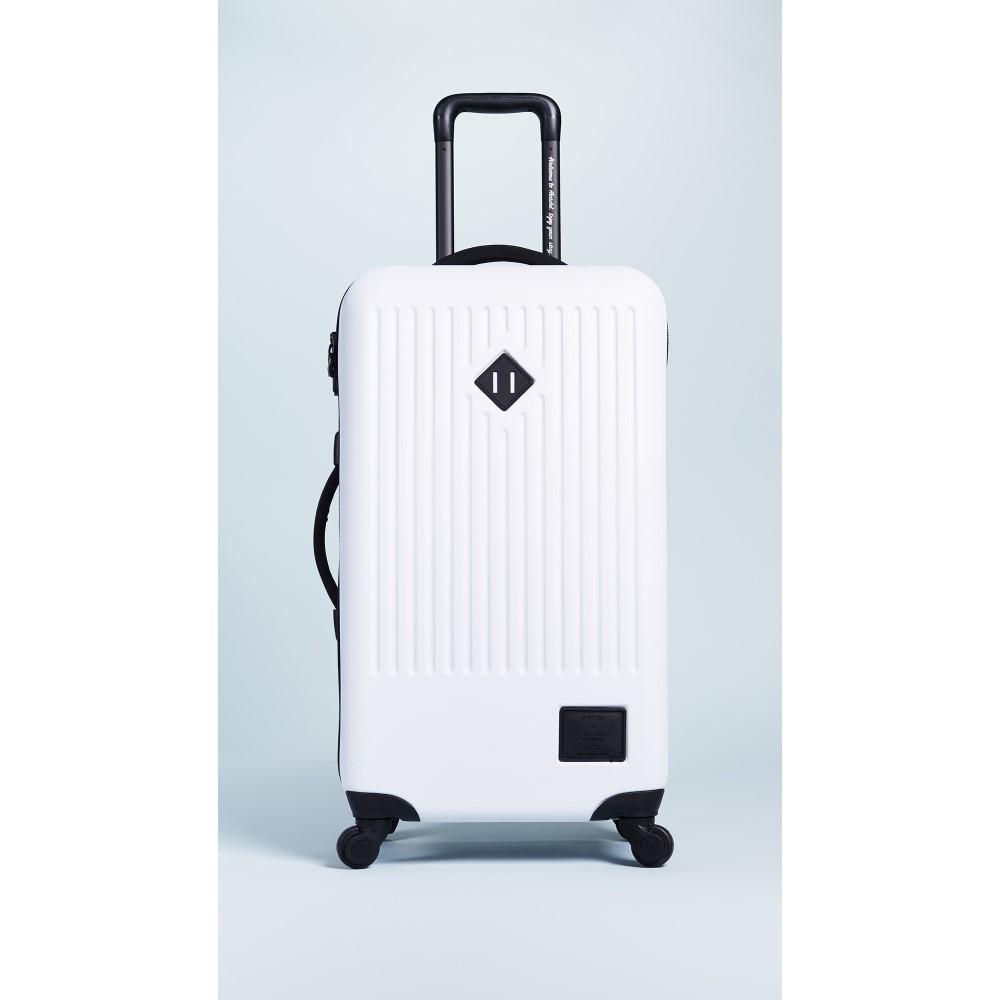 ハーシェル サプライ レディース バッグ スーツケース・キャリーバッグ【Trade Medium Suitcase】White