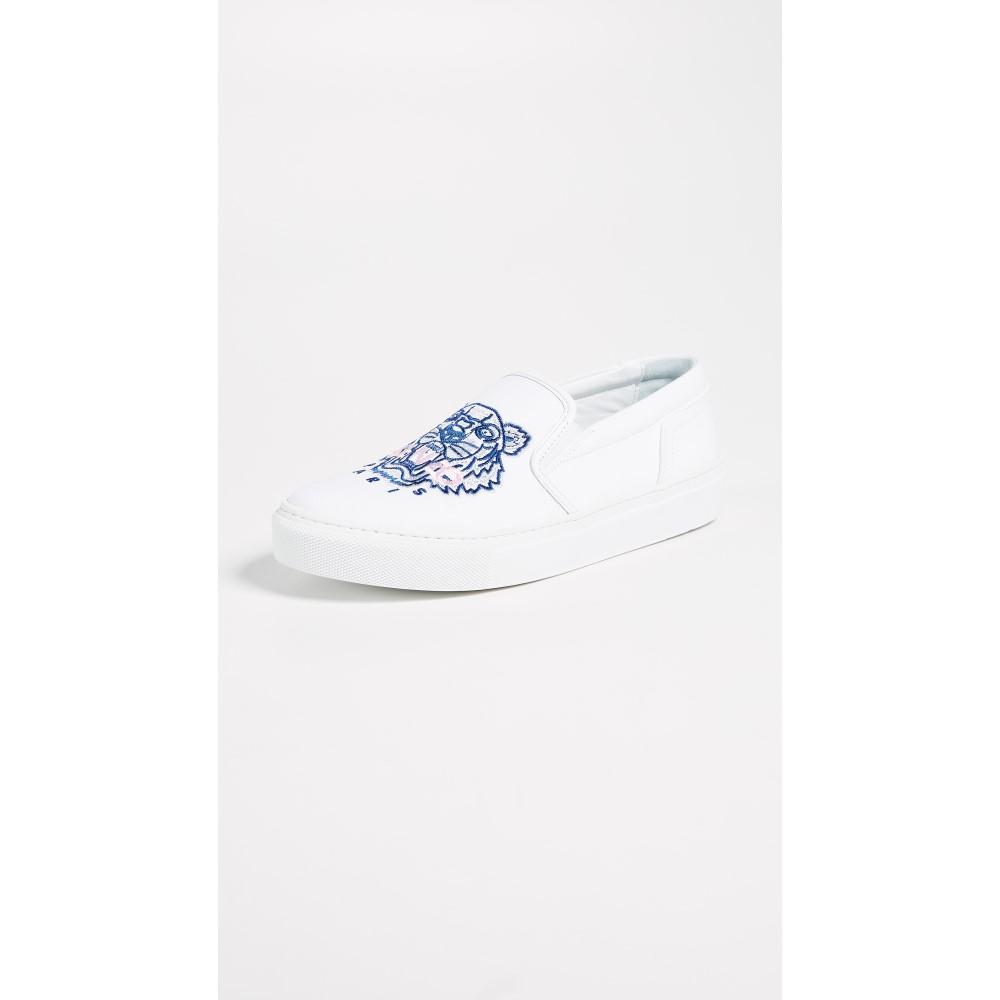ケンゾー レディース シューズ・靴 スニーカー【K-Skate Tiger Sneakers】White