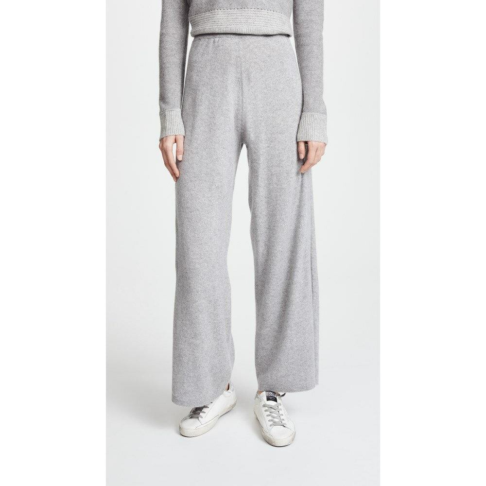 プリングル オブ スコットランド レディース ボトムス・パンツ【Knitted Cashmere Trousers】Brume