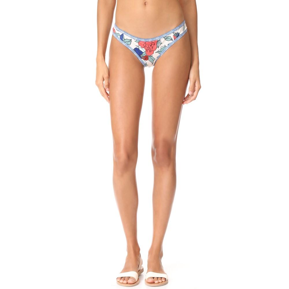 タビク レディース 水着・ビーチウェア ボトムのみ【Jayden Bikini Bottoms】Emma Floral Tapioca