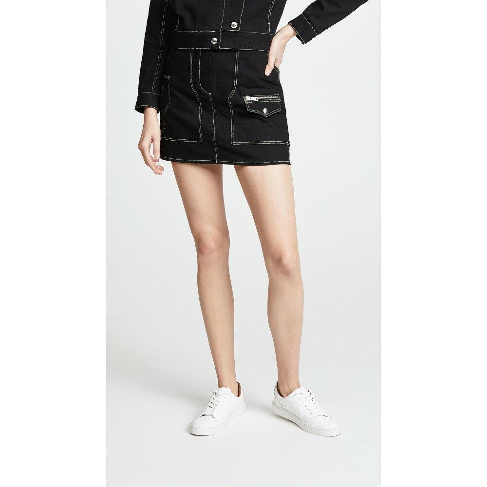 クレージュ レディース スカート ミニスカート【Safari Miniskirt】Black