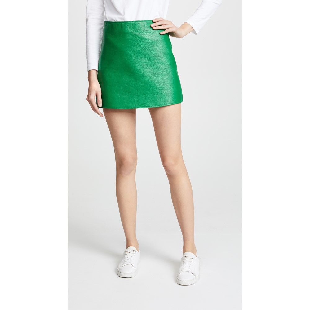 クレージュ レディース スカート ミニスカート【Back Logo Miniskirt】Green