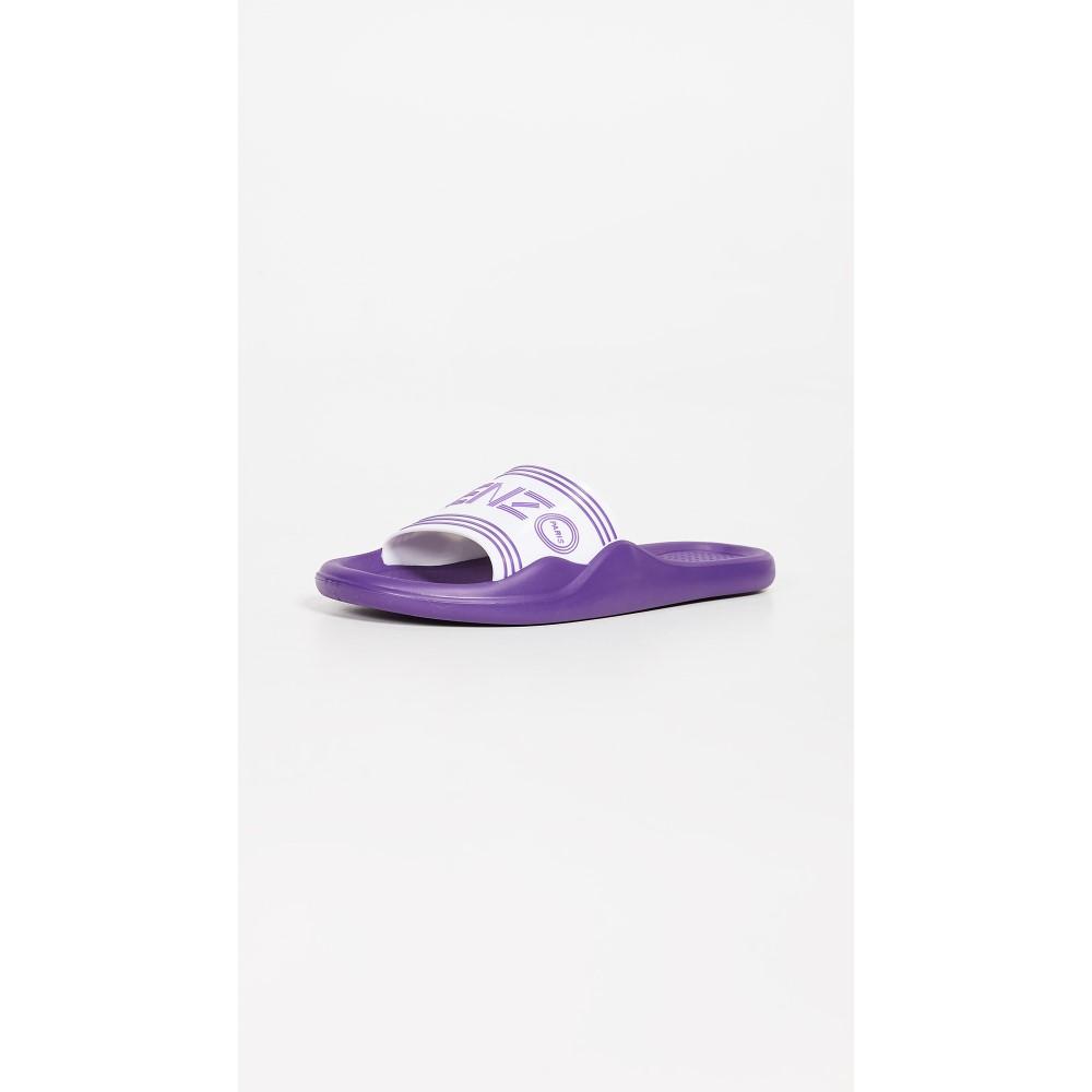 ケンゾー レディース シューズ・靴 サンダル・ミュール【Pool Sandals】White