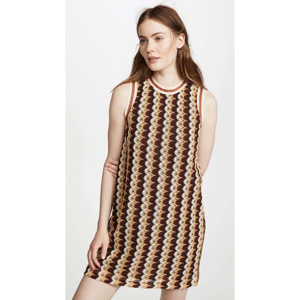 アナスイ レディース ワンピース・ドレス ワンピース【Zigzag Mini Dress】Sienna Multi