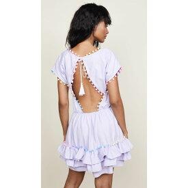 ペイショット レディース 水着・ビーチウェア ビーチウェア【Nissi Pom Pom Dress】Lavender
