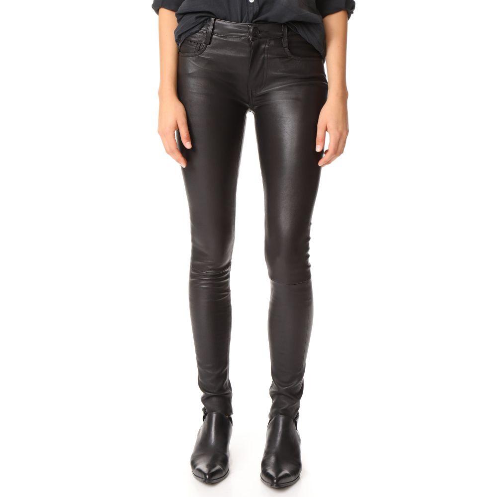 マッカージュ レディース ボトムス・パンツ スキニー・スリム【Peppa Leather Pants】Black