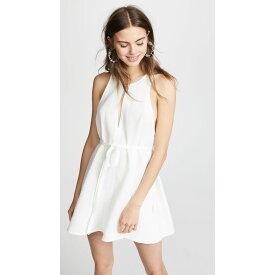 ルカシャ レディース ワンピース・ドレス ワンピース【Rosetta Tie Waist Dress】Cream