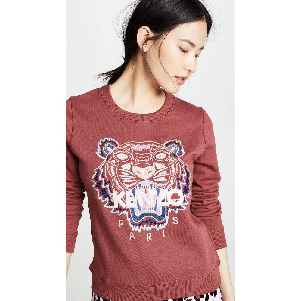 ケンゾー レディース トップス スウェット・トレーナー【Tiger Classic Sweatshirt】Suede