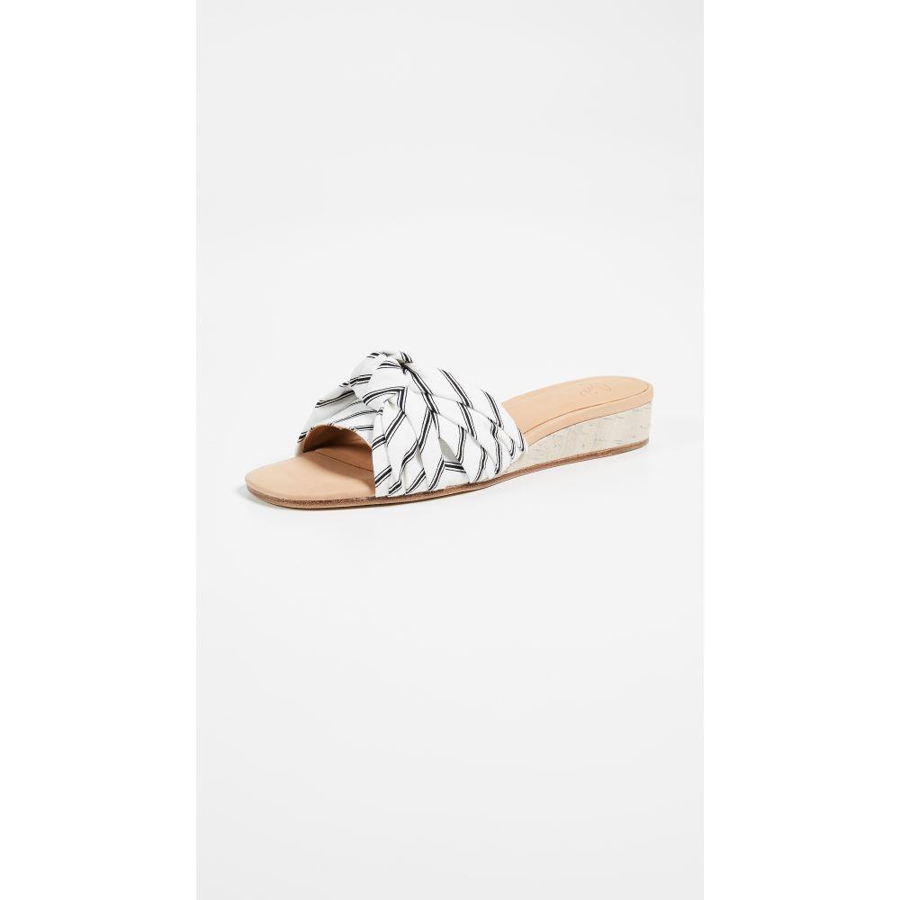ジョア レディース シューズ・靴 サンダル・ミュール【Fabrizia Slides】Porcelain/Caviar
