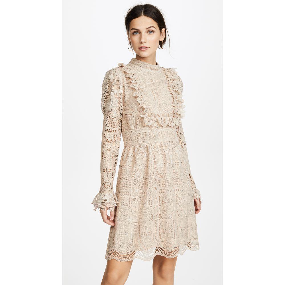 アナスイ レディース ワンピース・ドレス ワンピース【Cupid's Clouds & Scallop Lace Dress】Antique