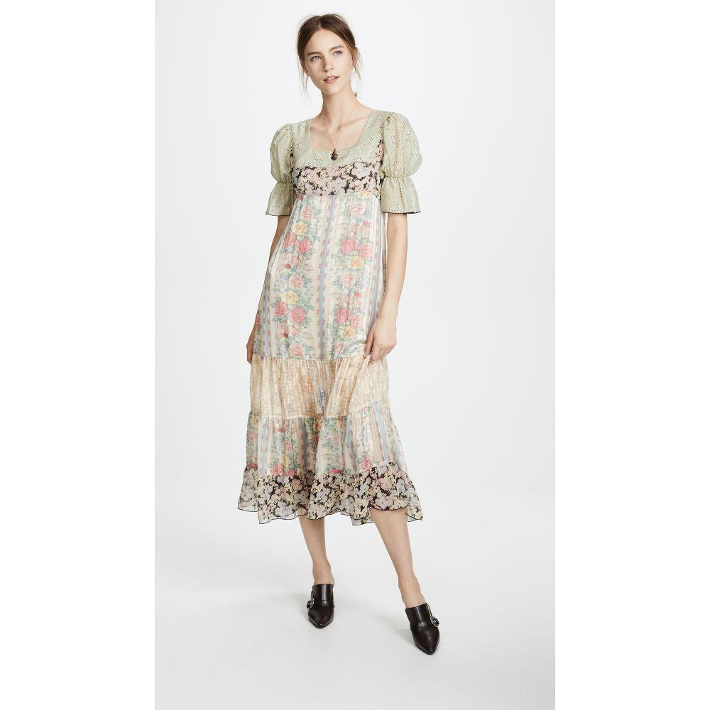 アナスイ レディース ワンピース・ドレス ワンピース【Whisper Rose Maxi】Antique Multi