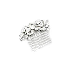 ベンアムン Ben-Amun レディース ヘアアクセサリー【Crystal Cluster Hair Comb】Clear/Silver