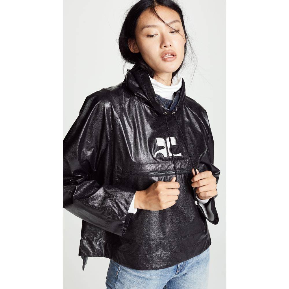 クレージュ Courreges レディース アウター ジャケット【Waterproof Vinyl Jacket】Black
