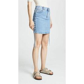 ステラ マッカートニー Stella McCartney レディース スカート【Denim Skirt】Light Blue