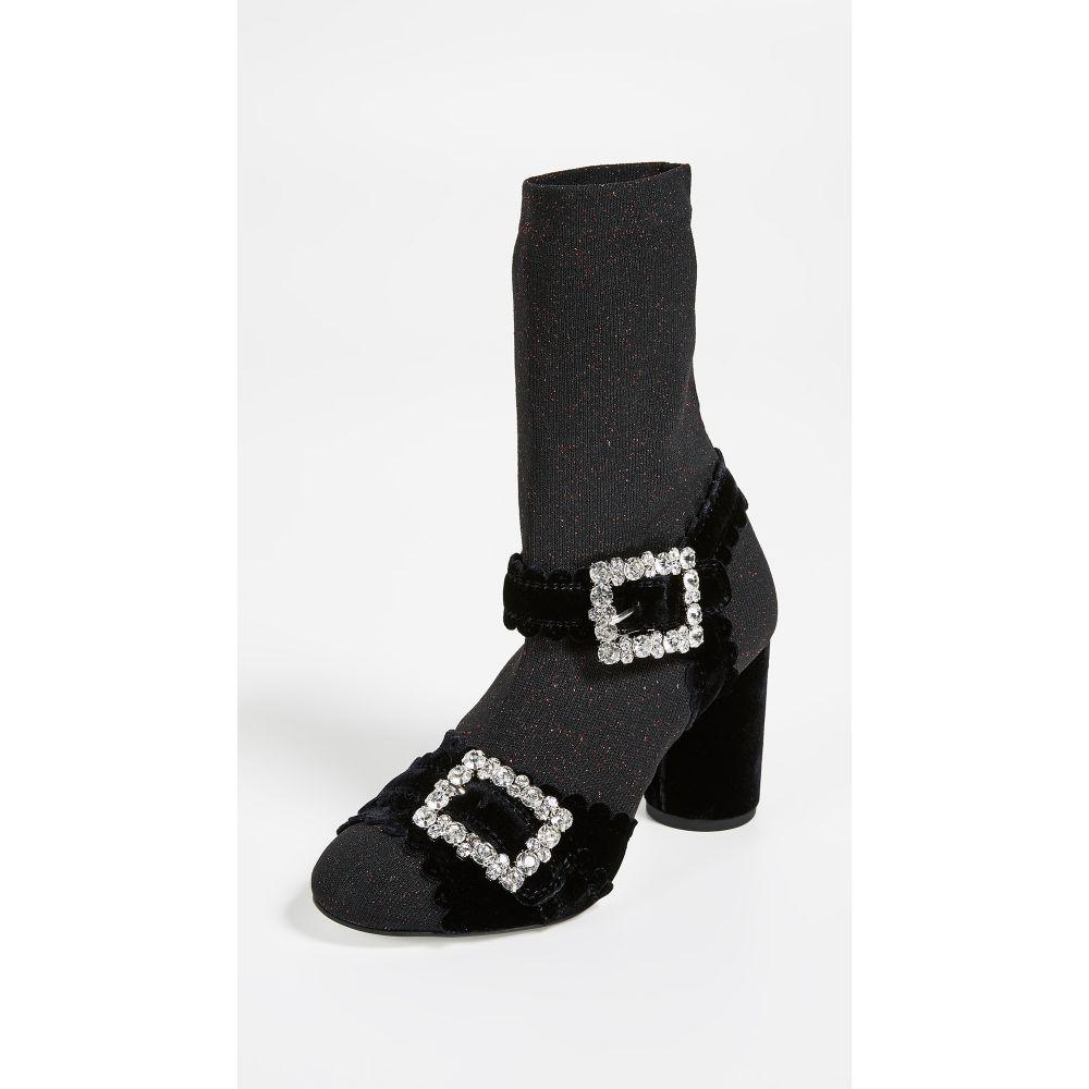 シューコンマボニー Suecomma Bonnie レディース シューズ・靴 サンダル・ミュール【Glitter Sock Sandals】Red